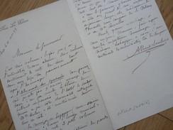 Albert SOUBIES (1846-1918) Critique & Historien MUSIQUE Et THEATRE. BEAUMONT DE LOMAGNE. Autographe - Autographes
