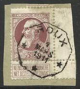 N°77, 35c Brun/fragt Càd Octog ROUX/1911/*** - 1905 Grosse Barbe