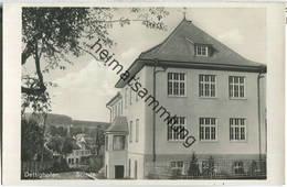 Dettighofen - Schule - Foto-Ansichtskarte - Allemagne