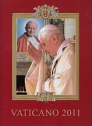 VATICANO 2011 - LIBRO UFFICIALE DI TUTTE LE EMISSIONI NUOVE - Vatican