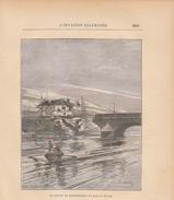 1888 - Gravure Sur Bois - Sèvres (Hauts-de-Seine) - La Maison Du Parlementaire - FRANCO DE PORT - Estampes & Gravures