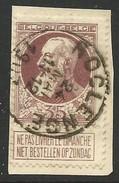 N°77, 35c Brun/fragt Càd ROCLENGE - 1905 Thick Beard