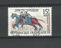 1958  N° 1172  TAPISSERIE    DATE 22.01.97  OBLITÉRÉ - France