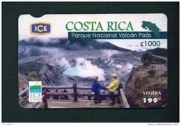COSTA RICA - Remote Phonecard As Scan - Costa Rica