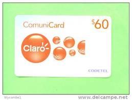 DOMINICAN REPUBLIC - Remote Phonecard/Claro RD$60 - Dominicana