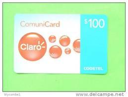 DOMINICAN REPUBLIC - Remote Phonecard/Claro RD$100
