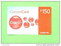 DOMINICAN REPUBLIC - Remote Phonecard/Claro RD$150