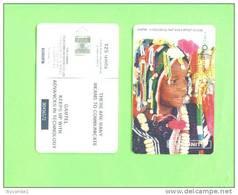GAMBIA - Chip Phonecard/Native Girl