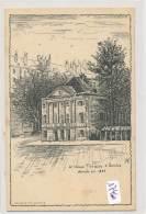 CPA ( Précurseur)-17460-Suisse - Genève - Le Vieux Théâtre Démoli En 1880 ( Illustrateur à Identifier) - GE Geneva