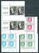 Monaco Timbres De 1984/85  N°1455 A 1458    Coins Datés Neufs ** - Neufs