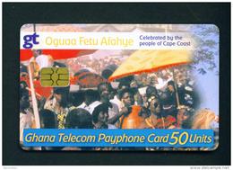 GHANA - Chip Phonecard As Scan