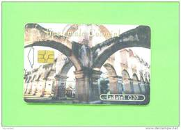 GUATEMALA  -  Chip Phonecard As Scan - Guatemala
