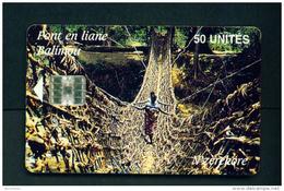 GUINEA - Chip Phonecard Pont En Liane - Guinée