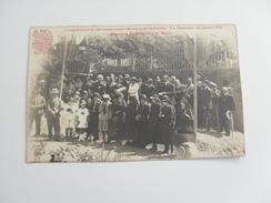 Cpa **  Le Tholonet  **  Ignauguration Du Monument Aux Morts 23 Juillet 1920 ** Discours Du Maire * - Autres Communes