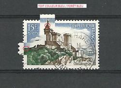 * 1958  N° 1175 CHÂTEAU DE FOIX   22 . 10 . 1958   OBLITÉRÉ - Errors & Oddities