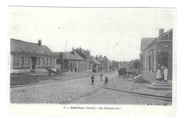 (13587-59) Catillon - La Grande Rue - Animée - Sonstige Gemeinden