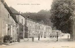CPA - RUPT-aux-NONAINS (55) - Aspect De La Place De L'Eglise Dans Les Années 20 - Other Municipalities
