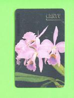 VENEZUELA - Chip Phonecard/Flowers/Orchids - Blumen