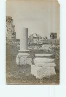 Carte Photo : VOLUBILIS, Ruines Romaines  2  Scans. - Marruecos