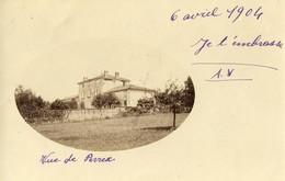 CPA (01) VUE DE BERNEX  (carte Photo Privée)    (b Bur) - Frankrijk