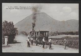 Passage Du Train Du Puy De Dome Aux Quatre Routes - France