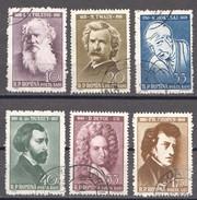 Rumänien; 1960; Michel 1890/4 Und 1898 O; Tolstoi, Twain, Hokusai, Musset, Defoe Und Chopin - 1948-.... Republiken