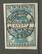 Estonia Estonie 1920 Michel 12 Y In Pair O SUUROPI (Suurupi) - Estonia
