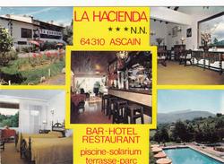 "G , Cp , HÔTELS & RESTAURANTS , BAR-Hôtel-Restaurant ""LA HACIENDA"" ,ASCAIN ,  64 - Hoteles & Restaurantes"