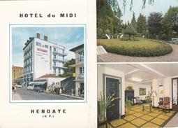 G , Cp , HÔTELS & RESTAURANTS , Hôtel Du MIDI ,HENDAYE ,  64 - Hoteles & Restaurantes