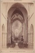 Vers 1900 Photo GUERANDE / INTERIEUR DE LA COLLEGIALE ST AUBIN - Guérande