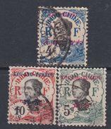 Kouang-Tchéou N° 20 / 22 O  Partie De Série  Les 3 Valeurs  Oblitérations Moyennes Sinon TB - Used Stamps