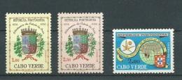 Portugal - Cap Vert  - Yvert N°  292 / 293  , 3 Valeurs **  -  Aab10907 - Cape Verde