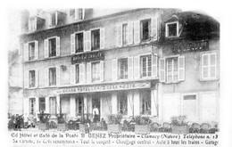 CLAMECY - Le Grand Hôtel Et Café De La Poste - B. GENEZ Propriétaire - Très Beau Plan Animé - Clamecy