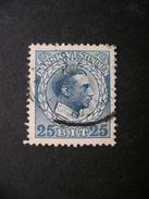 DANISH WEST INDIES King Christian X 25b 1915 Used