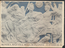 °°° 2411 - ROMA - MOSTRA AUGUSTEA DELLA ROMANITA - 1937/1938 °°° - Mostre, Esposizioni