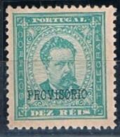 Portugal, 1892/3, # 81, Sob.b, MH - Nuovi