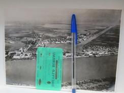 1934 23x16.5 Cm Bouches Du Rhone Le Port St Louis   ,  Photo Aerienne