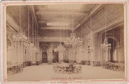 Vers 1900 Photo PRINCIPAUTE DE MONACO / SALLE MAURESQUE AU CASINO DE MONTE CARLO - Casino