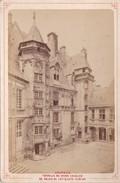 Vers 1900 Photo PAR LIBRAIRIE LESAULE RUE PORTE NEUVE A BOURGES / TOURELLE DU GRAND ESCALIER DU PALAIS JACQUES-COEUR - Bourges