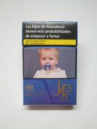 BOÎTE JPS Blue, étui à CIGARETTES Vide En Carton John Player Special - Empty Cigarettes Boxes
