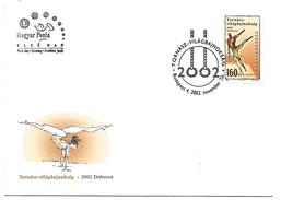 HONGRIE FDC 2002 GYMNASTIQUE
