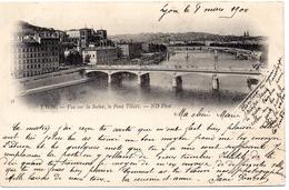 """1 Cpa Lyon """"pionniere 1900"""" - Lyon"""