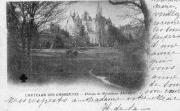"""1 Cpa Chateaux Des Charentes """"pionniere 1902"""" - France"""