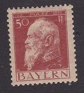 Bavaria, Scott #84, Mint Hinged, Prince Regent Luitpold, Issued 1911 - Bavaria