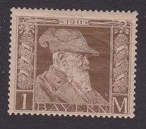 Bavaria, Scott #86, Mint Hinged, Prince Regent Luitpold, Issued 1911 - Bavière