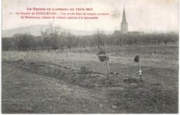 GUERRE 1914 1918 ... LA BATAILLE DE ROZELIEURES ... UNE TOMBE DANS LES VERGERS - Guerra 1914-18