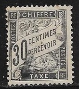 N° 18  FRANCE - TAXE OBLITERE - Postage Due