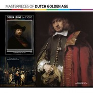 Sierra Leone - Postfris / MNH - Sheet Meesterwerken Nederlandse Gouden Eeuw 2017 - Sierra Leone (1961-...)