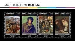 Sierra Leone - Postfris / MNH - Sheet Meesterwerken Realisme 2017 - Sierra Leone (1961-...)