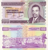BURUNDI      100 Francs     P-44b      1.9.2011       UNC - Burundi